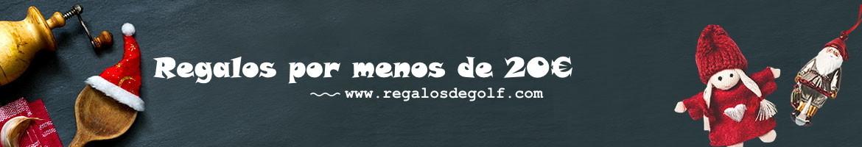 Regalos por menos de 20 euro para tu amigos o familia WF Golf Gifts